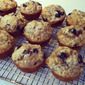 Blueberry or Saskatoon Berry Muffins