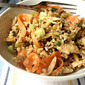Chicken & Wild Rice Salad w/ Almonds