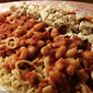 """Spiced ~ Up"" Red Sauce with Cannellini Beans and Spaghetti!!!"