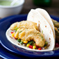 Beer Battered Fried Avocado Tacos