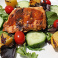 Grilled Salmon Salad Medley