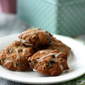 Prune, Cinnamon and Toasted Walnut Cookies with Cinnamon Icing