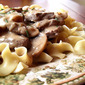Classic Beef Stroganoff from Fine Cooking Magazine, February/March 2012