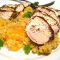 Za'atar Chicken with Orange Couscous
