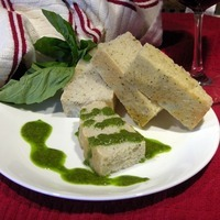 Basil Dipping Oil