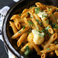Whole Grain Penne Recipe with Roasted Red Pepper Sauce, Cauliflower & Capers {Giveaway}