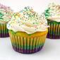 Mardi Gras Cupcakes