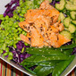 Rainbow Asian Salmon Salad