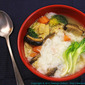 Beancurd and Veggie Congee
