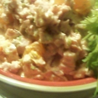 Best Ever Ham and Mandarin Salad