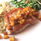 Sauteed Pork Chops with Pineapple and Mint from All You Magazine, February 2012