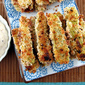 Baked Zucchini Fries with Onion Dipping Sauce