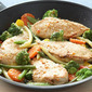 Chicken & Vegetables Parmesan