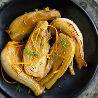 Braised Fennel with White Wine