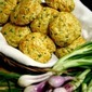 CHEDDAR AND GREEN ONION BISCUITS A bowl of hot soup with 2 or 3...