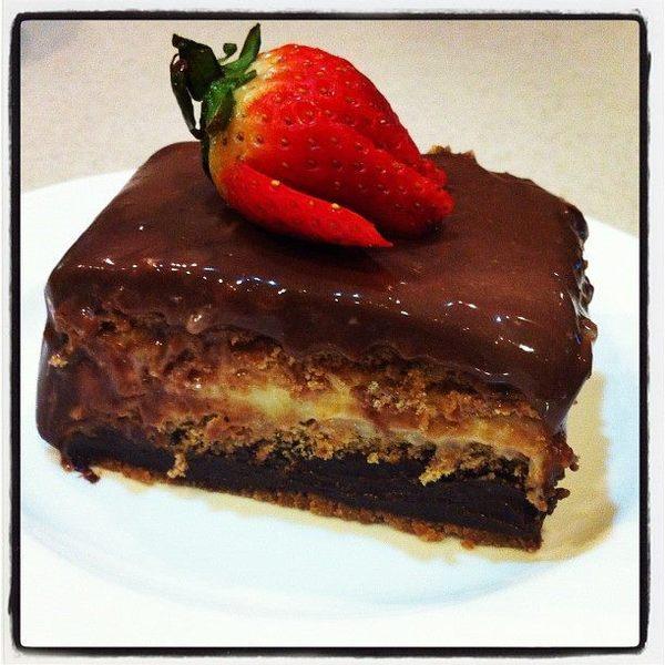 Triple Chocolate Dessert Recipe by - CookEatShare