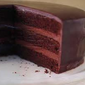 A Delectable Cake with Triple Layers of Chocolate