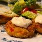 Crunchy Creamy Crab Cakes…YUM!