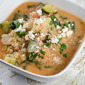 Chicken and Quinoa Stew with Spinach, Tomatoes and Feta