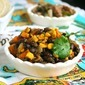 Sweet Potato Black Bean Saute'