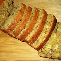 Carrot Pineapple Nut Bread