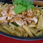 Chicken with Lemon Basil Pasta