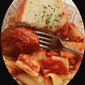 Rigatoni with Genovese or Roasted Pepper Sauces