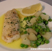 Baked Haddock w Potato Crush