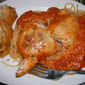 Romano Chicken with Vodka Sauce