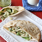 Pita Sandwich Recipe with Chicken, Hearts of Palm & Chimichurri Dressing