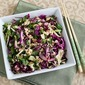 Recipe for Thai-Style Spicy Cabbage Slaw with Mint and Cilantro