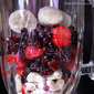 Cashew Smoothie with Mixed Berries