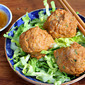 Thai red curry turkey meatballs recipe