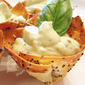 Elegant Appetizer – Avocado and Goat Cheese Mousse in Wonton Cups