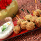 Thai Fish Balls with Lime-Cilantro Mayo dip , an awesome WIN and 10,000+ hits people!!!