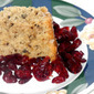 My Meatless Mondays - Cranberry Nut Coffee Cake