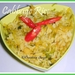 Cabbage rice- easy and quick