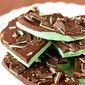 Grasshopper Mint Chocolate Bark