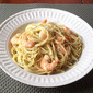 Poblano Cream Pasta with Shrimp from Every Day with Rachael Ray Magazine, March 2012