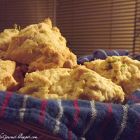 Parmesan Cornmeal Biscuits!!!