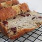 Quick and Easy Banana Apple and Cranberry Bread
