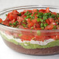 Lighter Seven-Layer Dip from The Best of America's Test Kitchen 2012