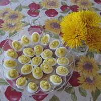 No Frills Deviled Eggs