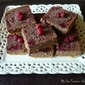 Chocolate Raspberry Cheesecake Bars
