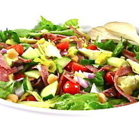 Hearty and Skinny Antipasto Main Course Salad
