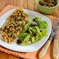 Recipe for Pan-Grilled Chicken with Green Olive, Caper, and Lemon Relish