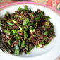 Spring Salad: Quinoa, Spinach, Parsley & Chives