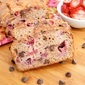Vegan Bread Made More Delicious with Chocolate Chips and Strawberries