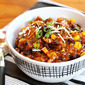 Smoky turkey, black bean and corn chili recipe