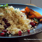 Spiced Couscous with Roasted Carrots